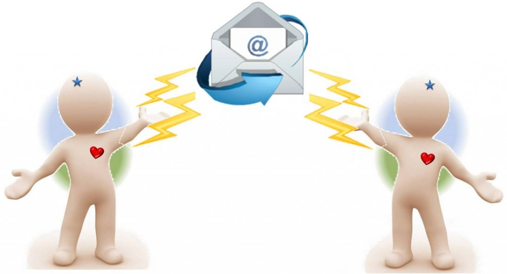 e-Mail Verkehr Beziehungsarbeit