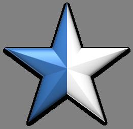 Sternchen-blau-halb